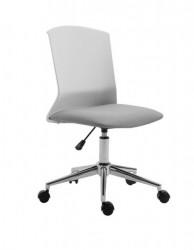 Office elegant - Daktilo stolica 3118-1 Belo-Siva