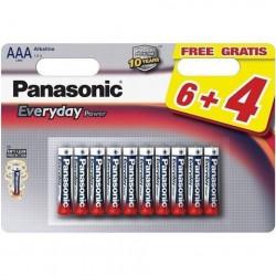 Panasonic LR03EPS/10BW-AAA 10 kom 6+4F Alkalne Ever baterije ( 02390635 )