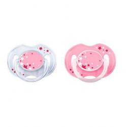 Philips Avent varalica 0-6m noćna 2/1 roze ( SCF176/28 )