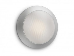 Philips Halo LED spoljašnja plafonska svetiljka inox 1x3W 17291/47/16