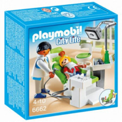 Playmobil City-6662 Zubar sa pacijentom ( 18526 )
