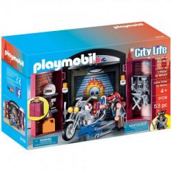 Playmobil radionica za motore 9108 ( 20207 )