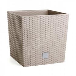 Prosperplast saksija rato low 40x40x41cm moka ( PR DRTS400L-7529U )