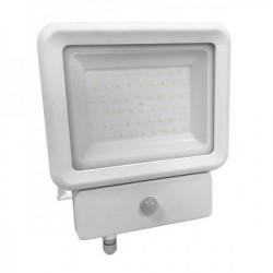 Prosto led vodootporni beli reflektor SMD 50W+SENZOR POKRETA 6500K/4250LM( RS50ECB/Z )