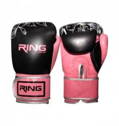Ring rukavice za boks 10 OZ kožne - RS 3311-10 rose