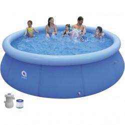 Samostojeći okrugli porodični bazen sa pumpom za vodu 360cmx76cm ( 26-330101 )