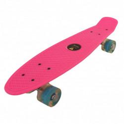 Skejtbord SIMPLE za decu sa svetlećim točkovima - Svetlo Pink ( TS-001 )