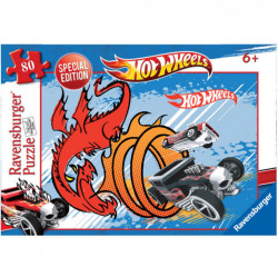 Slika Slagalica x 80 - Hot Wheels ( 01-107469 )