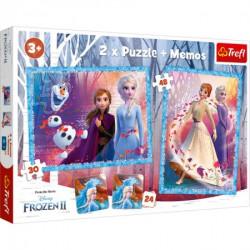 Slagalica x2 + Memos Frozen II ( 12-908145 )
