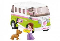 Sluban kocke, autobusa za obilazak grada, 158 kom ( A016155 )