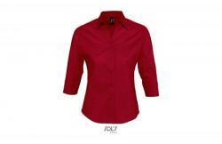 SOL'S effect ženska košulja sa 3/4 rukavima crvena XL ( 317.010.25.XL )
