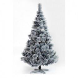 Srebrna Novogodišnja jelka 150 cm