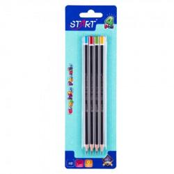 Start grafitne olovke space 4 komada na blisteru start ( STR6158 )