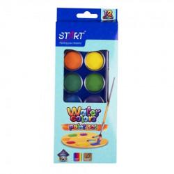 Start vodene boje 12 boja sa cetkicom start ( STR5786 )