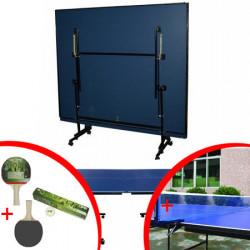 Sto za stoni tenis EDT metalni ram + poklon mreža + reketi i loptice
