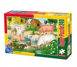 Super Puzzle 240PCS ANIMALS 02 ( 07/60211-02 )