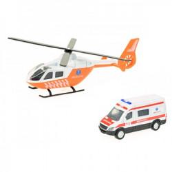 Toi toys Helikopter +kombi metalni ( 235266 )