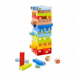 Tooky Toy Jenga-Animal društvena igra ( TY704 )