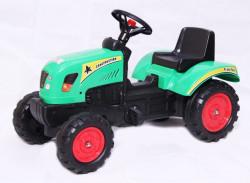 Traktor 02 na pedale za decu - Zeleni