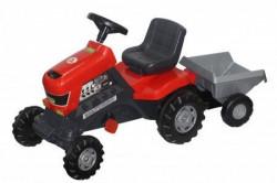 Traktor sa prikolicom na pedale 127x49x66cm ( 052681 )