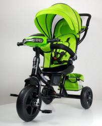 Tricikl Guralica Model 433 sa svetlosnim i zvučnim efektima - Zelena