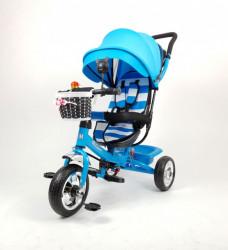 Tricikl Guralica Playtime AM 406 - Plavi + Mekano sedište