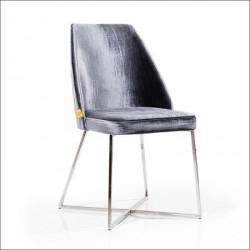 Trpezarijska stolica VIP Grafitno Siva 470x500x920 mm ( 775-067 )