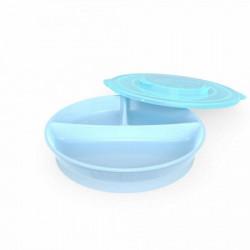 Twistshake podeljeni tanjir 6 pastel blue ( TS78170 )