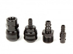 "Womax spojnica pneumatska 1/2""+1/4""+8mm+8mm crna ( 75790004 )"