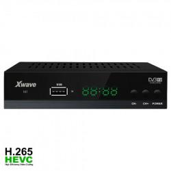 Xwave DVB-T2 Set Top Box SD/HD DVB-T2, SD/HD MPEG2 i MPEG4 AVC H.265 HDMI, SCART i koaksialni audio izlaz ( M1 )