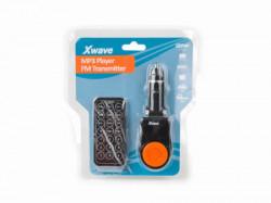 Xwave FM transmiter za kola LCD (MP3/MP4)/SDSlot/USB/Daljinski upravljac ( BT63 orange )