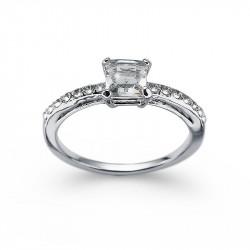 Ženski Oliver Weber Private Crystal Prsten Sa Swarovski Belim Kristalom XL 62 mm