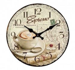 Zidni sat Espresso 30cm ( 203252 )