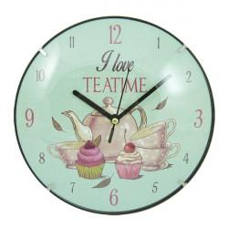 Zidni sat I Love Teatime R20cm ( 35849_2 )