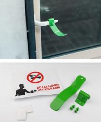 Antivirus kvaka - za prevenciju širenja virusa - Zelena