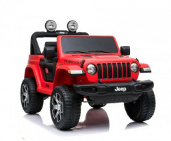 Babycar Džip Jeep Wrangler 12V crveni JWR555R ( 146814 )
