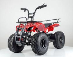 Bagi Quad model 123 sa mekim sedištem i gumama na naduvavanje - Crveni