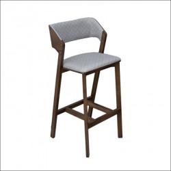 Barska stolica Toni Krem/Tamni orah 480x490x1080 mm ( 776-004 )