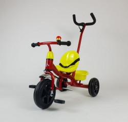 Bella Tricikl sa ručicom za guranje model 430 - Crveni