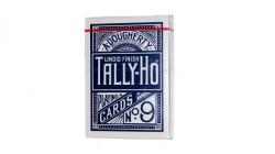 Bicycle Tally-Ho Half Fan Back Karte - Plave ( 1006704B )