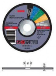 Bosch rezna ploca fi 125mm x 22.23mm x 1mm ravna multi construct ( 2608602385 )