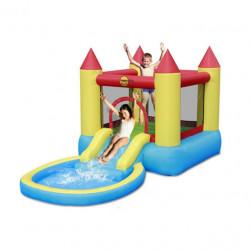 Bouncy Dvorac na naduvavanje sa bazenom i spustom ( 9820 )