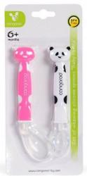 Cangaroo Set silikonskih kašičica baby panda girl ( CAN1607G )