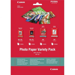 Canon foto papir VARIETY-PACK S+A4