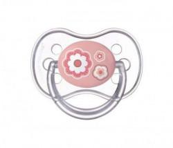 Canpol baby silikonska varalica 0-6m 22/580 1kom newborn baby roze ( 22/580_roze )
