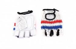 Capriolo Sportske rukavice - retro crochet dizajn XL bele ( 185121-B )