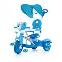 Capriolo tricikl sa drškom i suncobranom plavi ( 290080 )