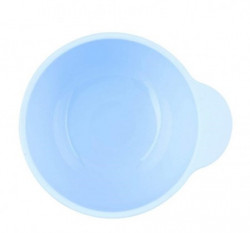 Chicco vakumski silikonski tanjir, 6m+, plavo ( A049967 )