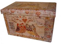 Childream Sove tabure kutija 36cm x 36cm x 36cm ( 0181213 )