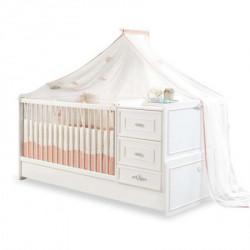 Cilek Romantica bebi produženi krevetac (75x160 cm) ( 20.21.1016.00 )